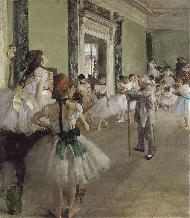 """Edgar Degas """"The Dance Class"""" (1873-1876)"""