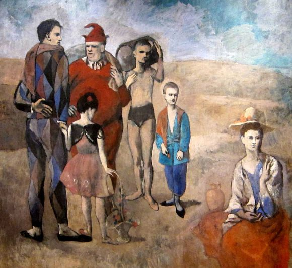 "Pablo Picasso ""Family of Saltimbanques"" (1905)."