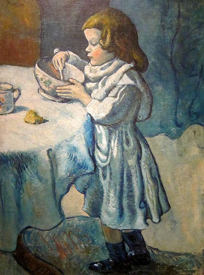 """Pablo Picasso """"Le Gourmet"""" (1901)."""