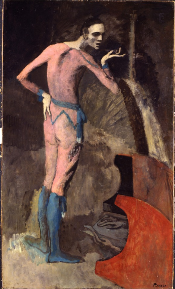 "Pablo Picasso ""The Actor"" (1904)."