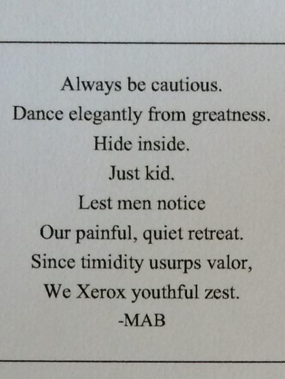always be cautious